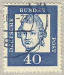 Stamps Germany -  Lessing