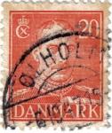 Stamps Denmark -  Rey Christian X