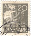 Stamps Denmark -  Carabela