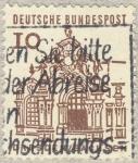 Stamps Germany -  Dresden Sauchsen