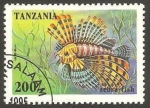 Stamps Africa - Tanzania -  pez cebra