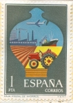 Stamps of the world : Spain :  Caja Postal de Ahorros