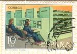 Sellos del Mundo : Europa : España : Mecanización Postal