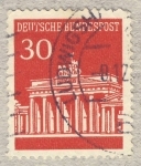 Stamps Germany -  palacio