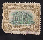 Sellos del Mundo : America : Guatemala : U.P.U. 1902 Palacio de Minerva