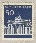Sellos de Europa - Alemania -  palacio