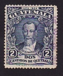 Stamps America - Guatemala -  U.P.U. 1926 Justo Rufino Barrios