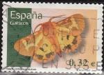 Sellos de Europa - España -  ESPAÑA 2009 4466 Sello Flora y Fauna Mariposa Hyphodralia Dejeani Usado