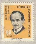 Sellos de Asia - Turquía -  Omer Seyfettin 1884-1920