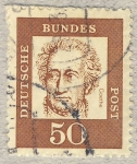 Stamps Germany -  Goethe