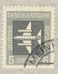 Sellos de Europa - Alemania -  DDR Avion