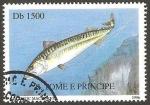 Sellos del Mundo : Africa : Santo_Tomé_y_Principe : pez