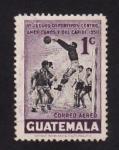 sellos de America - Guatemala -  VI Juegos Deportivos Centroamericanos y del Caribe 1950