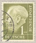Sellos de Europa - Alemania -  Presidente Th. Heuß