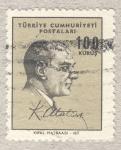 Sellos de Asia - Turquía -  Mustafa Kemal Atatürk Presidente de Turquía