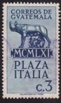 Stamps Guatemala -  Plaza Italia