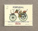 Sellos de Europa - Portugal -  Centenario automóvil