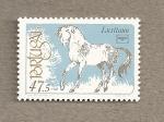 Stamps Portugal -  Caballo Lusitano