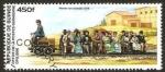 Stamps : Africa : Guinea :  tren, werner von siemens 1879