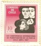 Stamps Chile -  Planificación Familiar