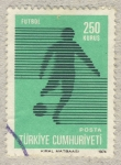 Stamps Turkey -  futbol