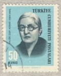 Stamps Asia - Turkey -  Halide Edip Adivar  1884-1964