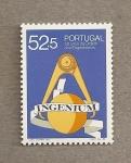 Stamps Portugal -  50 Aniv Colegios Ingenieros