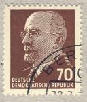 Sellos de Europa - Alemania -  DDR Walter Ulbricht