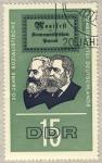 Sellos de Europa - Alemania -  DDR  20 jahre Sozialistische