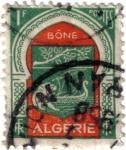 Stamps Algeria -  Ciudad de Bone,  Argelia