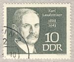 Stamps Europe - Germany -  DDR Karl Landsteiner 1868-1943