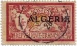 sellos de Africa - Argelia -  Argelia República Francesa