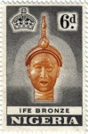 Stamps Africa - Nigeria -  Escultura Ife Bronce Reina Madre