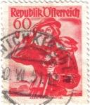 Stamps Austria -  Republik Ofterreich. República de Austria