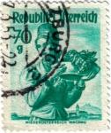Stamps Oceania - Austria -  Republik Ofterreich. República de Austria