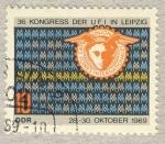 Sellos de Europa - Alemania -  DDR 36 Kongress der UFI in Leipzig 28-30 Oktober 1969