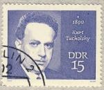 Stamps Germany -  DDR Kurt Tucholsky