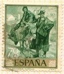 Sellos de Europa - España -  Tipos Manchegos (Sorolla)