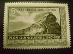 Stamps America - Argentina -  plan quinquenal argentina