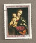 Stamps Hungary -  Virgen con niño por Gianpietrino