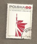 Sellos de Europa - Polonia -  IV Congreso de los luchadores por la democracia y la libertad