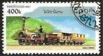 Stamps : Asia : Laos :  tren