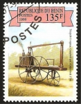 Stamps Africa - Benin -  triciclo a vapor