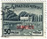 Stamps Asia - Pakistan -  Los jardines de Shalimar