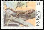 Sellos del Mundo : Europa : España : ESPAÑA 1999 3614 Sello Nuevo Fauna Española en Peligro de Extincion Lagarto Gigante de El Hierro