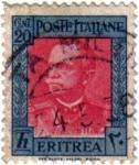 Sellos de Europa - Italia -  Eritrea. Colonia Italiana en Africa.