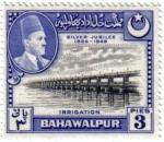Stamps Pakistan -  Bodas de plata  1924-1949. Riego