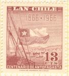 Stamps Chile -  Centenario de la ciudad de Antofagasta.