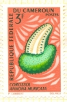 Stamps of the world : Cameroon :  Annona Muricata