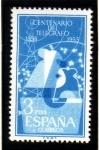 Stamps Spain -  1955 Centenario del Telegrafo. Edifil 1182